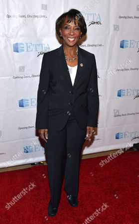 Los Angeles District Attorney Jackie Lacey attends the 21st Annual ETTA Gala held at The Beverly Hilton, in Beverly Hills, Calif