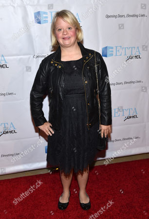 Lauren Potter attends the 21st Annual ETTA Gala held at The Beverly Hilton, in Beverly Hills, Calif