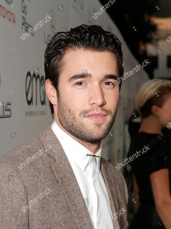 Joshua Bowman attends the 24th Annual Environmental Media Awards at Warner Bros. Studios on in Burbank, Calif