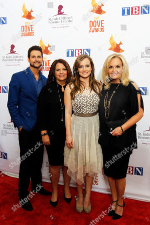 Editorial picture of 45th Annual GMA Dove Awards - Arrivals, Nashville, USA