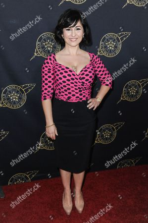 Stock Picture of Maddalena Ischiale arrives at the 52nd Annual ICG Publicists Awards, in Beverly Hills, Calif