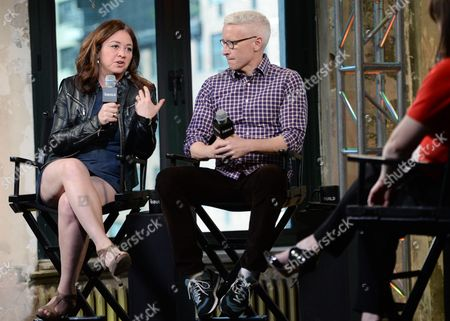 Editorial image of AOL BUILD Speaker Series: Anderson Cooper and Liz Garbus, New York, USA
