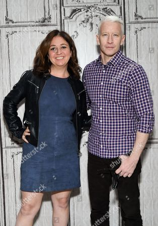 Editorial picture of AOL BUILD Speaker Series: Anderson Cooper and Liz Garbus, New York, USA