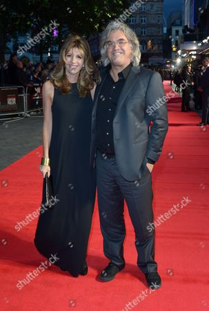 Paul Greengrass and Joanna Greengrass English film director Paul Greengrass (right) and wife Joanna Greengrass attend the European Premiere of Captain Phillips during the 57th BFI London Film Festival in partnership with American Express at Odeon West End on in London
