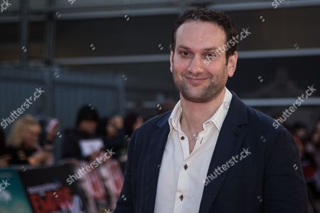 Daniel Ragussis poses for photographers upon arrival at the Empire Live event, in London