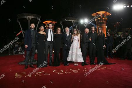 Editorial photo of Britain Exodus Gods And Kings Premiere, London, United Kingdom