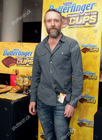 Actor John Pyper-Ferguson samples Butterfinger Cups, as Butterfinger butts into awards season at Kari Feinstein's Oscars Style Lounge on in West Hollywood, Calif. Fans can see more of the Butterfinger Commentators at ButterfingerCups.com
