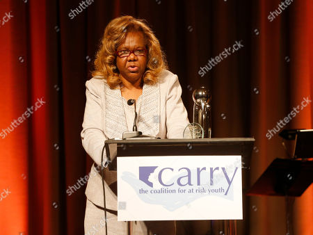 """Stock Photo of Orchid Lifetime Achievement Award winner Janie Bradford at the CARRY Foundation's 7th Annual """"Shall We Dance"""" Gala at The Beverly Hilton Hotel on in Beverly Hills, California"""