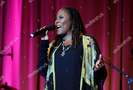 """Brenda Russell performs at CARRY Foundation's 7th Annual """"Shall We Dance"""" Gala at The Beverly Hilton Hotel on in Beverly Hills, California"""