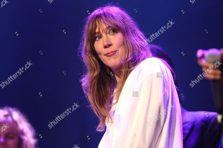 "Beth Orton performs at the Celebration Of The 60th Anniversary Of Allen Ginsberg's ""Howl"" at the Theatre at Ace Hotel, in Los Angeles"