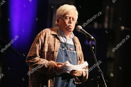 "Stock Image of Van Dyke Parks performs at the Celebration Of The 60th Anniversary Of Allen Ginsberg's ""Howl"" at the Theatre at Ace Hotel, in Los Angeles"
