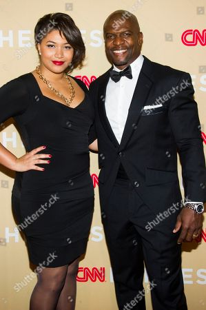 Stock Photo of Terry Crews and daughter Azriel Crews attend CNN Heroes: An All-Star Tribute, in New York