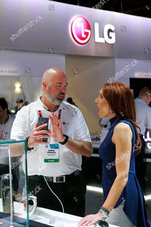 Editorial image of Consumer Electronics Show LG, Las Vegas, USA