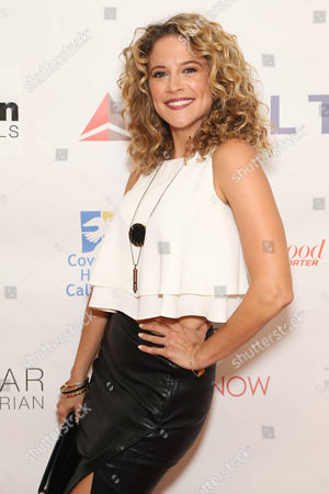 Alexis Carra attends the Covenant House California's All Star Mixology Competition on at the Mondrian in West Hollywood, Calif
