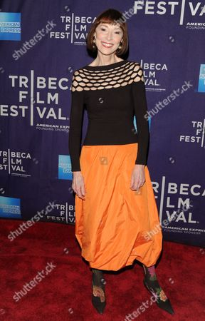 """Singer Karen Akers attends the """"Dancing In Jaffa"""" premiere during the 2013 Tribeca Film Festival on in New York"""