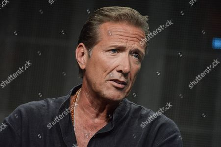 """Walt Willey speaks onstage during the """"Gunsligners"""" Portion of the Discovery 2014 Summer TCA, in Beverly Hills, Calif"""