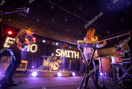 Jamie Sierota, Noah Sierota, Sydney Sierota and Graham Sierota with Echosmith performs at The Loft, in Atlanta