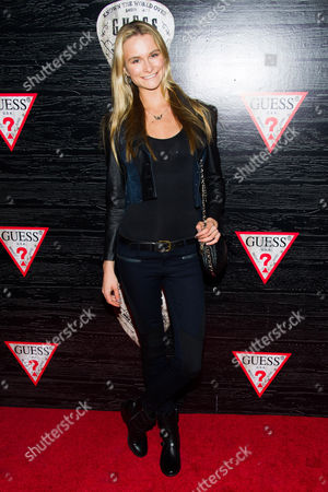 Elena Foley attends the Guess Fashion Week celebration on in New York