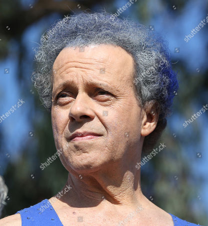 Richard Simmons onstage at JDRF's Los Angeles Walk to Cure Diabetes at the Rose Bowl on in Pasadena, California