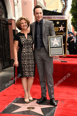 Editorial image of Jim Parsons Honored With A Star On The Hollywood Walk Of Fame, Los Angeles, USA