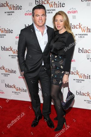 "President of Relativity Media Tucker Tooley attends the Los Angeles Premiere of ""Black or White"" held at Regal Cinemas, in Los Angeles"