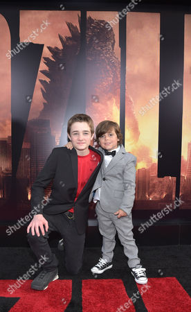 "Editorial picture of LA Premiere Of ""Godzilla"" - Red Carpet, Los Angeles, USA"