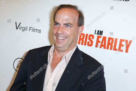 """John Farley arrives at the LA Premiere of """"I Am Chris Farley"""" at the Linwood Dunn Theater, in Los Angeles"""