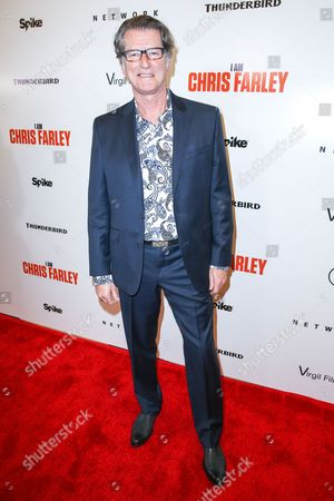 """Stock Picture of Derik Murray arrives at the LA Premiere of """"I Am Chris Farley"""" at the Linwood Dunn Theater, in Los Angeles"""