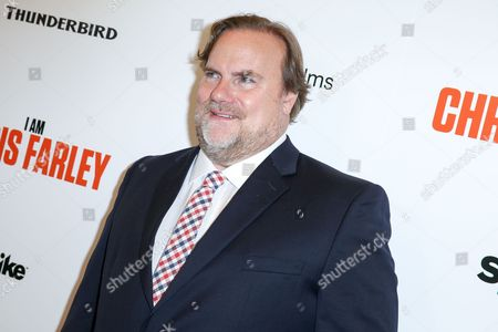 "Stock Image of Kevin Farley arrives at the LA Premiere of ""I Am Chris Farley"" at the Linwood Dunn Theater, in Los Angeles"