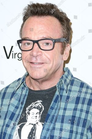 "Tom Arnold arrives at the LA Premiere of ""I Am Chris Farley"" at the Linwood Dunn Theater, in Los Angeles"