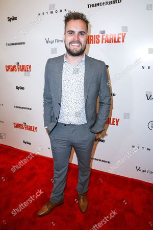 "Brent Hodge arrives at the LA Premiere of ""I Am Chris Farley"" at the Linwood Dunn Theater, in Los Angeles"