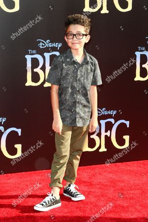 """Nicolas Bechtel attends the LA Premiere of """"The BFG"""" held at El Capitan Theatre, in Los Angeles"""