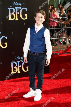 """Ethan Wacker attends the LA Premiere of """"The BFG"""" held at El Capitan Theatre, in Los Angeles"""