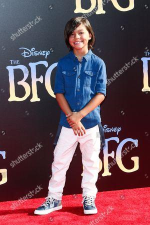 "Malachi Barton attends the LA Premiere of ""The BFG"" held at El Capitan Theatre, in Los Angeles"