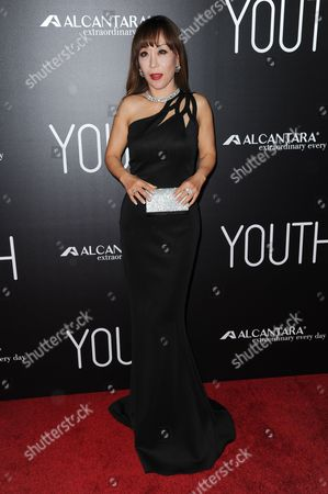 "Sumi Jo arrives at the LA Premiere of ""Youth"" held at the DGA Theater, in Los Angeles"