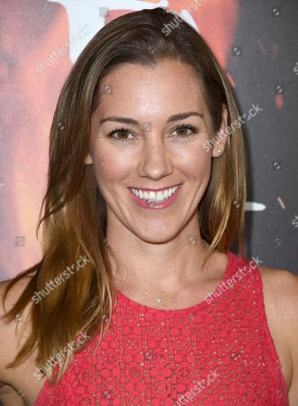 """Carly Craig arrives at a special screening of """"Inferno"""" at the Directors Guild of America Theatre, in Los Angeles"""
