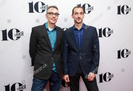Graham Annable and Anthony Stacchi seen at the LAIKA 10th Anniversary Party at The London Hotel, in West Hollywood, Calif
