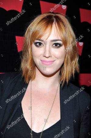 Andrea Bowen seen at Levi's Pre-Grammy Party with Private Performance by Miguel, on in Los Angeles
