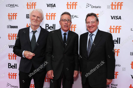"Executive Producer Andre Lamal, Producer Tom Rosenberg and Producer Gary Lucchesi are seen at Lionsgate's ""American Pastoral"" Premiere at the 2016 International Film Festival, in Toronto"