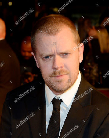 Paul Andrew Williams poses at London Film Festival The Mayfair Hotel Gala - Song for Marion at Odeon West End on in London