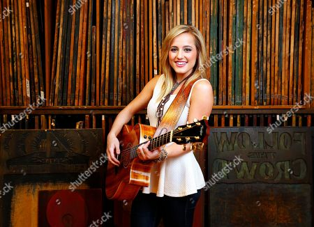 Mary Sarah poses for a portrait at Hatch Show Print inside The Country Music Hall of Fame and Museum on in Nashville, Tenn. Photo by Donn Jones/Invision/AP