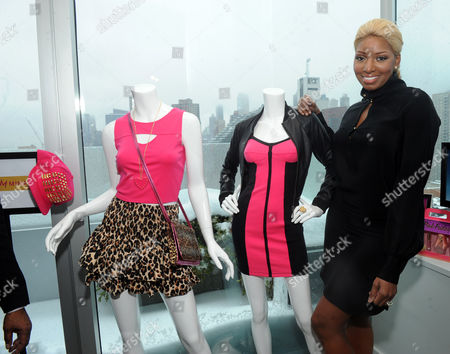Reality TV star NeNe Leakes gets personal as she checks out the Nicki Minaj spring collection from Kmart during the Shop Your Way Personal Shopper launch in New York