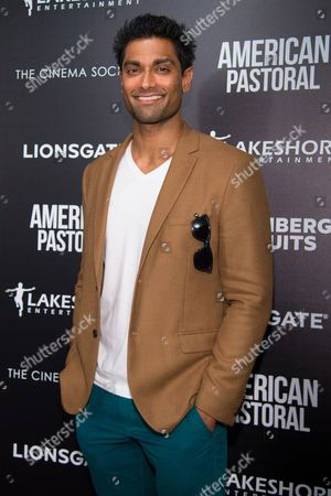 "Gerrard Lobo attends a special screening of ""American Pastoral"" at the Museum of Modern Art, in New York"