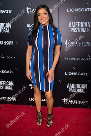 "Stock Picture of Arianda Fernandez attends a special screening of ""American Pastoral"" at the Museum of Modern Art, in New York"