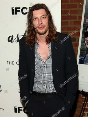 "Benedict Samuel attends a special screening of ""Asthma"", hosted by IFC Films with The Cinema Society, at The Roxy Hotel, in New York"