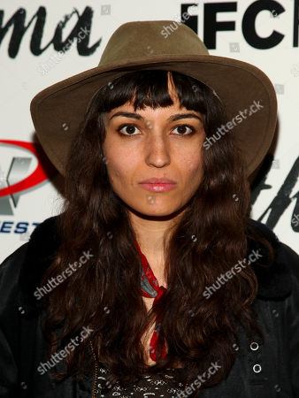 "Carlen Altman attends a special screening of ""Asthma"", hosted by IFC Films with The Cinema Society, at The Roxy Hotel, in New York"