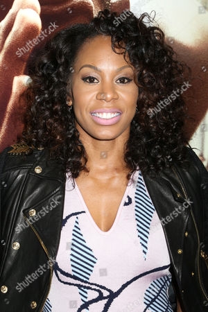 """Sanya Richards-Ross attends a special screening of Focus Features' """"Race"""" at the Landmark Sunshine Cinema, in New York"""