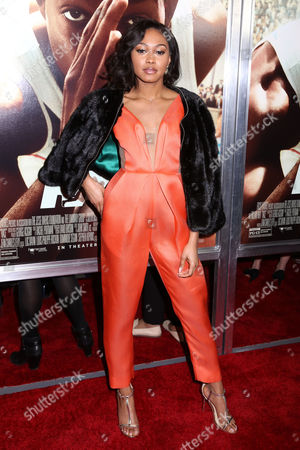 """Shanice Banton attends a special screening of Focus Features' """"Race"""" at the Landmark Sunshine Cinema, in New York"""