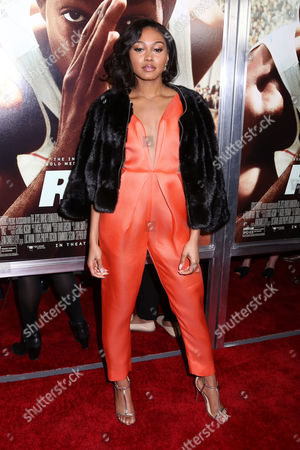 """Stock Image of Shanice Banton attends a special screening of Focus Features' """"Race"""" at the Landmark Sunshine Cinema, in New York"""