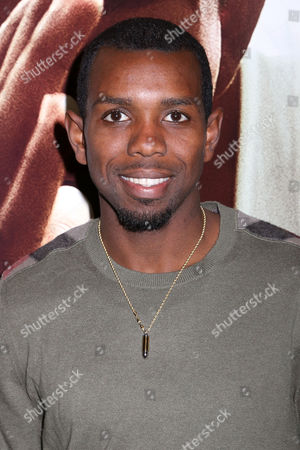 "Bershawn Jackson attends a special screening of Focus Features' ""Race"" at the Landmark Sunshine Cinema, in New York"
